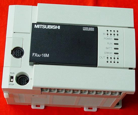 fx3u-422-bd安装在plc上